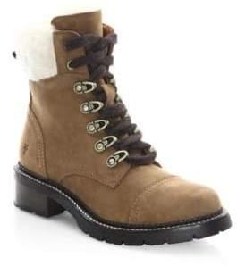 Frye Samantha Shearling Hiker Boots