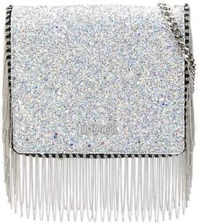 Just Cavalli chain tassel glitter crossbody