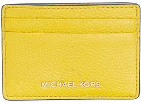 Michael Kors Money Pieces Leather Card Holder- Sunflower - ONE COLOR - STYLE