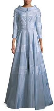 Carolina Herrera Women's Pleated A-Line Gown