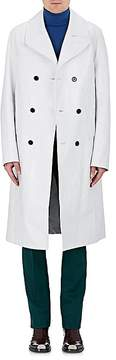 CALVIN KLEIN 205W39NYC Men's Leather Trench Coat