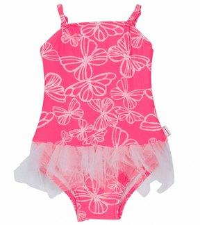 Seafolly Girls' Neon Pop Ballerina Tutu One Piece (624mos) - 8113303