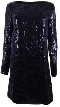 Vince Camuto Women's Sequin Sheath Cocktail Dress