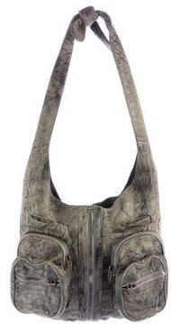 Alexander Wang Distressed Suede Donna Bag