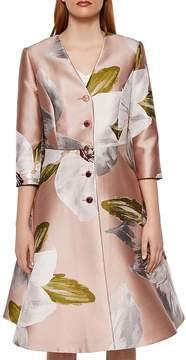 Ted Baker Ottie Chatsworth Bloom Dress Coat