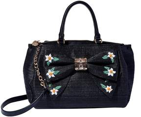Betsey Johnson DAISYD AND CONFUSED BOW SATCHEL