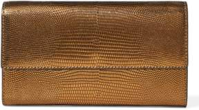 Polo Ralph Lauren Lizard-Embossed Chain Wallet
