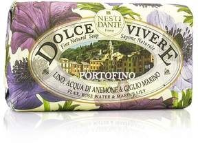 Nesti Dante Dolce Vivere Fine Natural Soap - Portofino - Flax, Rose Water & Marine Lily