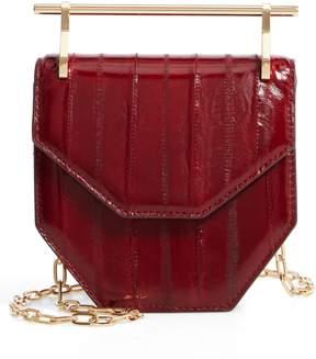 M2Malletier Mini Amor Fati Eelskin Shoulder Bag