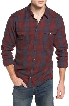 BOSS ORANGE Men's Erodeo Plaid Shirt