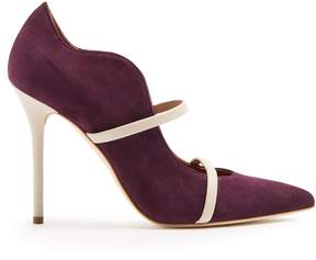 Malone Souliers Maureen suede pumps