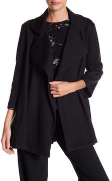Adrienne Vittadini Side Pocket Open Jacket
