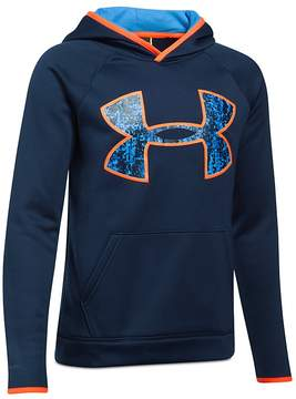 Under Armour Boys' Big-Logo Hoodie - Big Kid