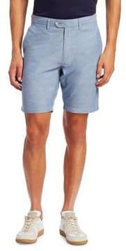 Saks Fifth Avenue COLLECTION Cotton Chambray Shorts