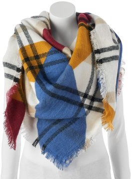 Apt. 9 Colorblock Frayed Blanket Scarf