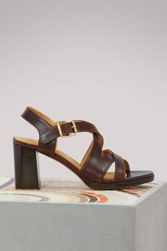 A.P.C. Salma leather sandals