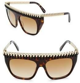 Stella McCartney 55MM Shield Sunglasses