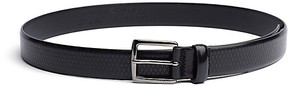 Tommy Hilfiger Final Sale-Tailored Collection Embossed Leather Belt