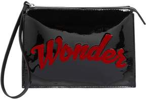 Jack Wonder Patent Leather Clutch