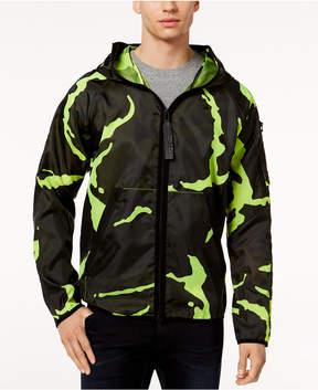 G Star Men's Strett Neon Camouflage Hooded Jacket
