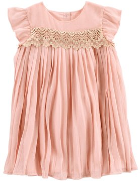 Osh Kosh Toddler Girls Pleated Dress