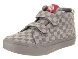 Vans Kids Sk8-mid Reissue V (mono Checkerboard) Skate Shoe.
