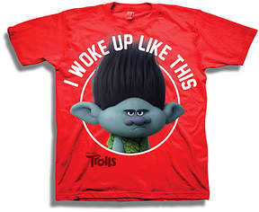 Freeze Trolls Red 'I Woke up Like This' Tee - Boys