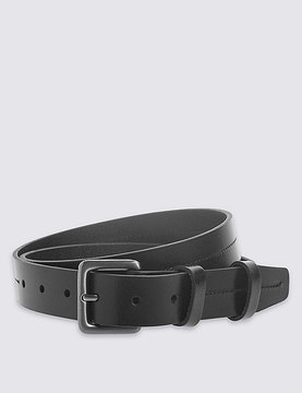 Marks and Spencer 3cm Double Keeper Leather Belt