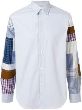 Junya Watanabe patchwork shirt
