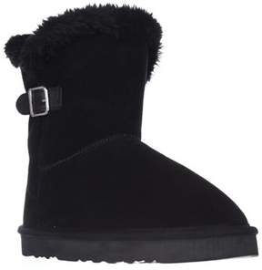 Style&Co. Sc35 Tiny2 Cold Weather Comfort Boots, Black.
