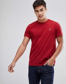 Jack Wills Sandleford T-Shirt In Crimson