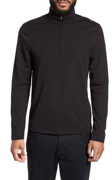James Perse Performance Quarter Zip Pullover