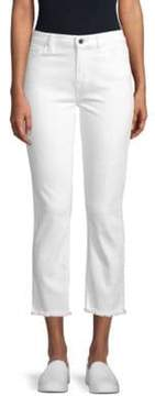 7 For All Mankind Jen7 by Straight Cropped Jeans
