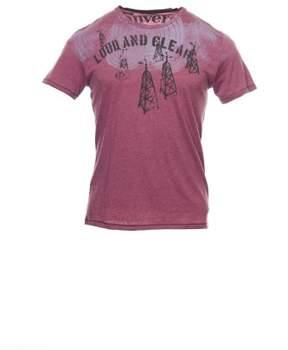 Converse 'Black Canvas' Purple Heather T-Shirt Tee Shirt