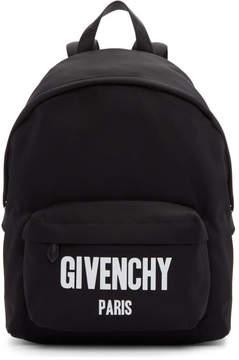 Givenchy Black Logo Urban Backpack
