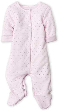 Absorba Newborn Girls) Star Print Footie
