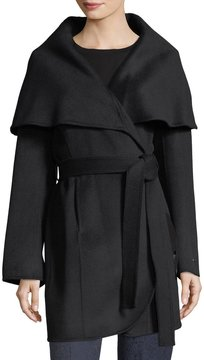 T Tahari Marla Double-Face Handmade Coat