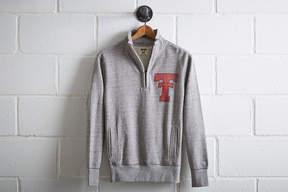 Tailgate Men's Texas Tech Half-Zip Fleece Popover