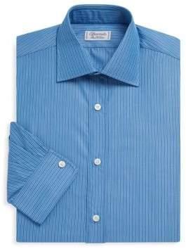 Charvet Slim-Fit Track Stripe Dress Shirt