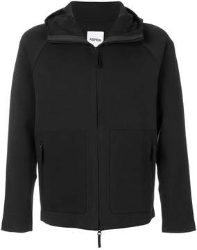 Aspesi hooded zip sweatshirt