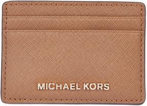 Michael Kors Jet Set Travel Cardholder - LUGGAGE - STYLE