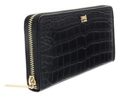 Roberto Cavalli Dea 192 Black Long Wallet.