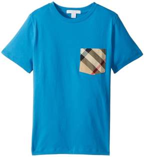 Burberry Short Sleeve YNG Tee Boy's Clothing
