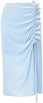 Cédric Charlier asymmetric ruffle skirt