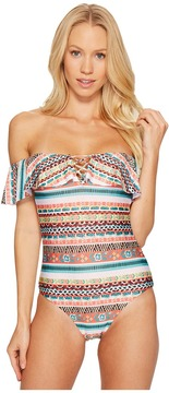 Becca by Rebecca Virtue Tapestry One-Piece Women's Swimsuits One Piece