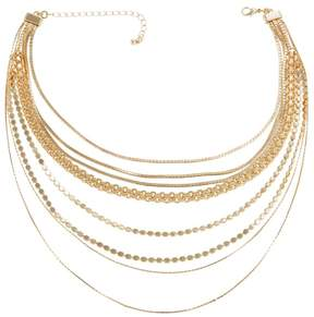 Danielle Nicole Carrie 8-Row 12-1/2 Choker Necklace