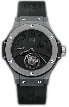 Hublot Big Bang Tourbillon Black Dial Ceramic Men's Watch