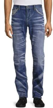 Affliction Cooper Burning Straight-Leg Jeans