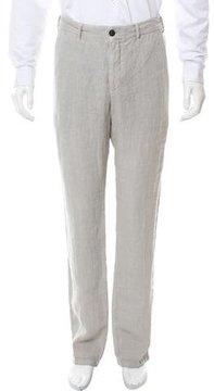 J.w.brine J.W. Brine Linen Straight-Leg Pants