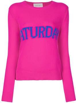 Alberta Ferretti Saturday intarsia jumper